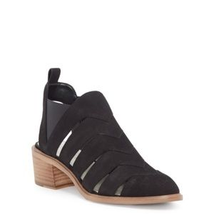 1. State leather booties